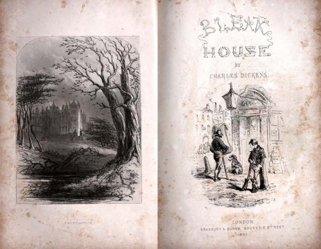 The final instalment of Bleak House, September 1853
