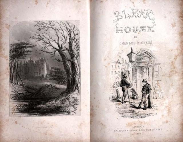 The final instalment of Bleak House, September 1853