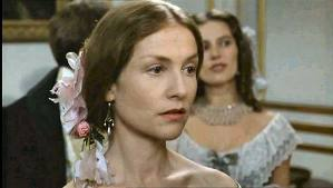 Isabelle Huppert as Madame Bovary