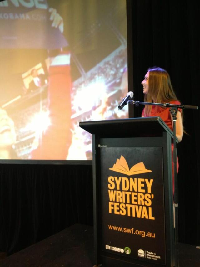 Jemma Birrell launches the Sydney Writers Festival 2013