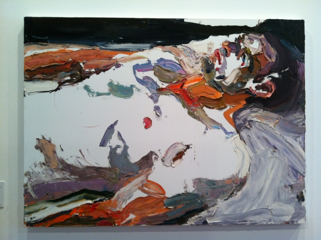 Captain S, after Afghanistan, Ben Quilty