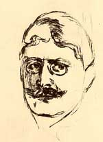 Hamsun by Edvard Munch