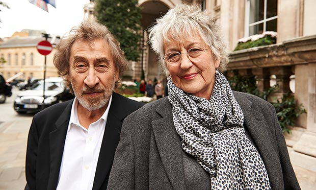 Howard Jacobson and Germaine Greer