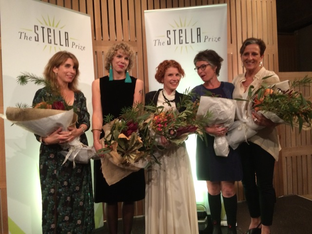 L-R: Mireille Juchau, Peggy Frew, Fiona Wright, Tegan Bennett Daylight and Charlotte Wood.