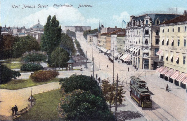 Kristiania circa 1900