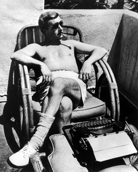 William Faulkner, Hollywood, early 1940s. (Photo by Alfred Eriss)