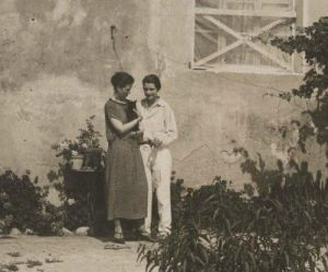 Djuna Barnes and Thelma Wood
