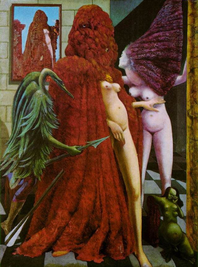 'The Robing of the Bride', Max Ernst