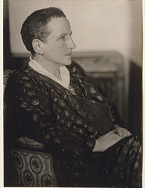 Gertrude Stein by Man Ray, 1927