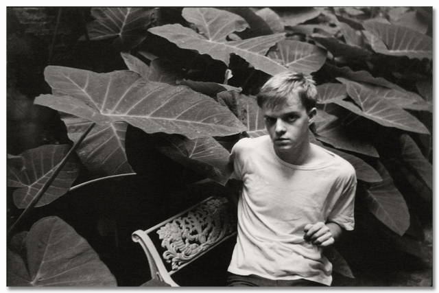 Truman Capote by Henri Cartier-Bresson